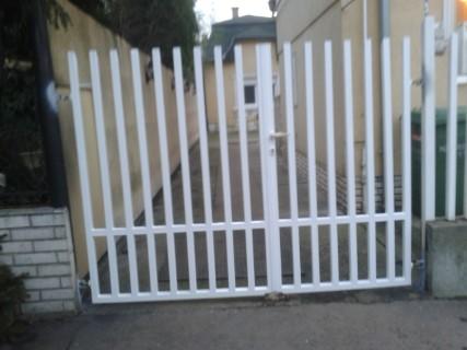 kovácsoltvas kapu, kerítés